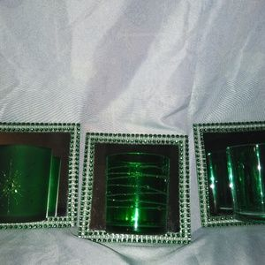 Glass Wall Sconce's